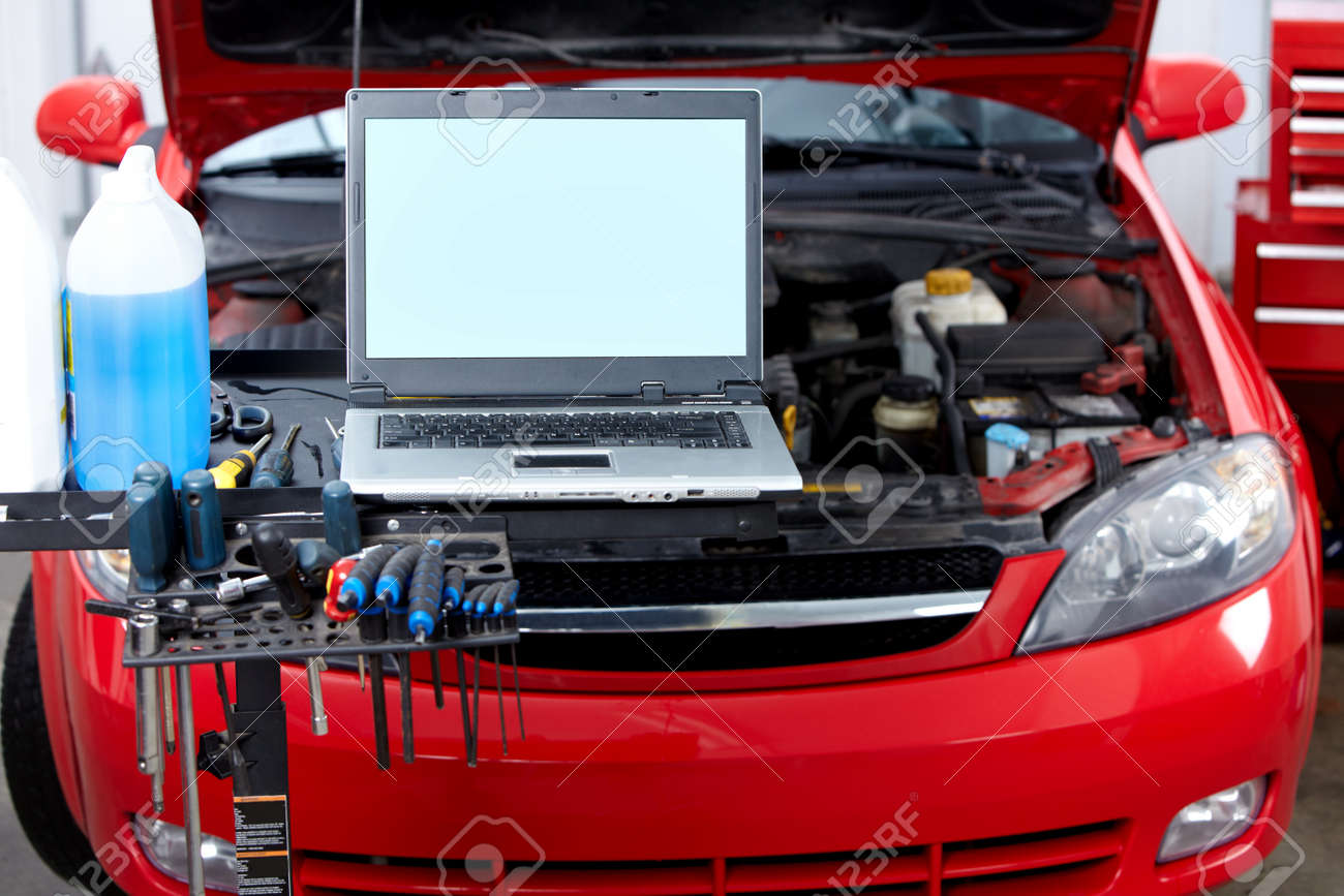 Auto repair Stock Photo - 9140300