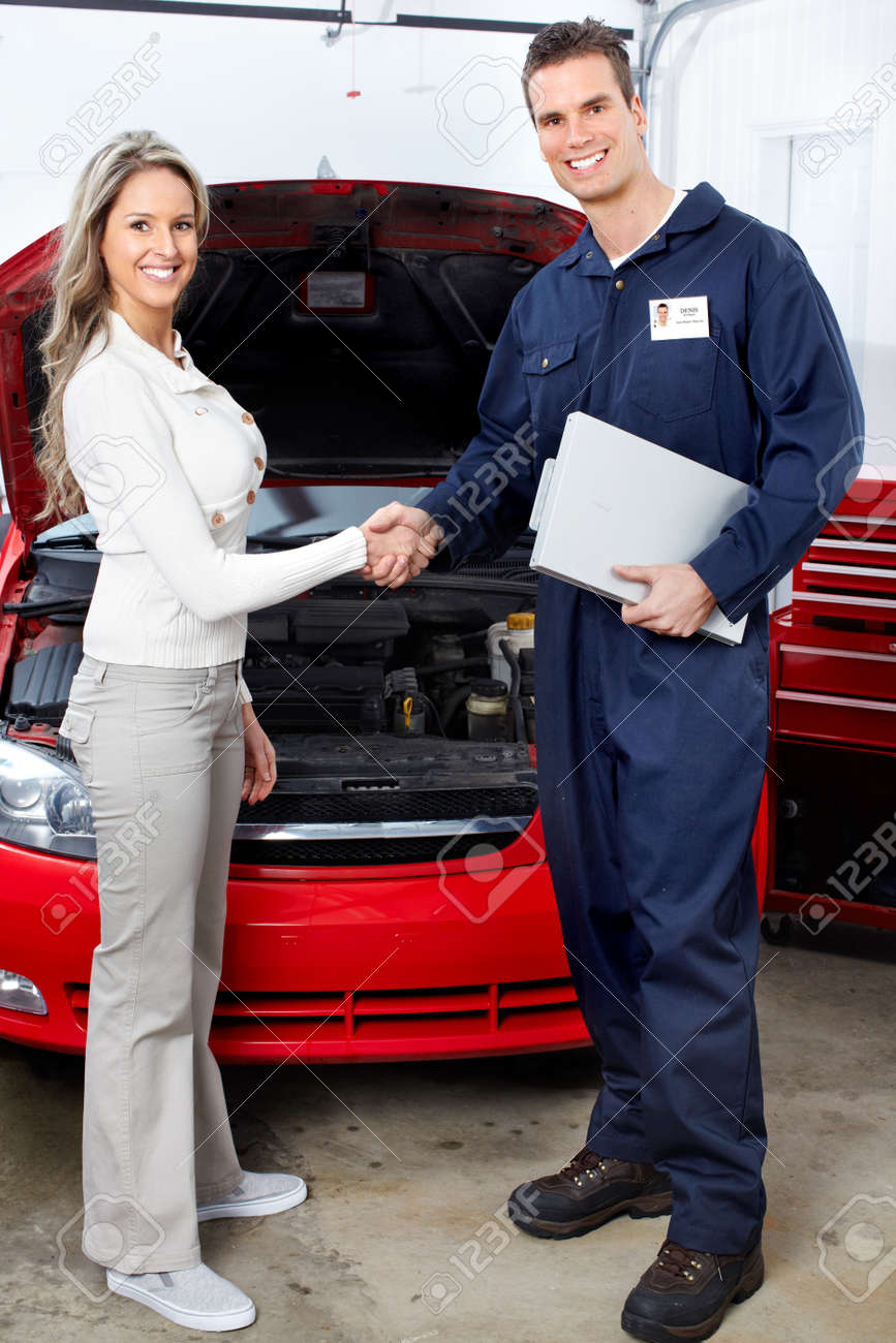 Auto repair Stock Photo - 9130068