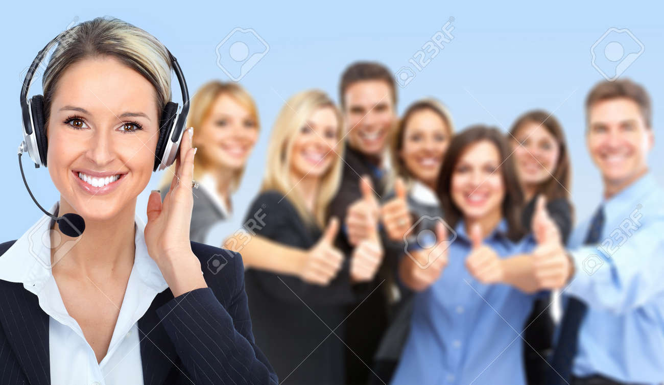 Call Center Operator Stock Photo, Picture And Royalty Free Image ...