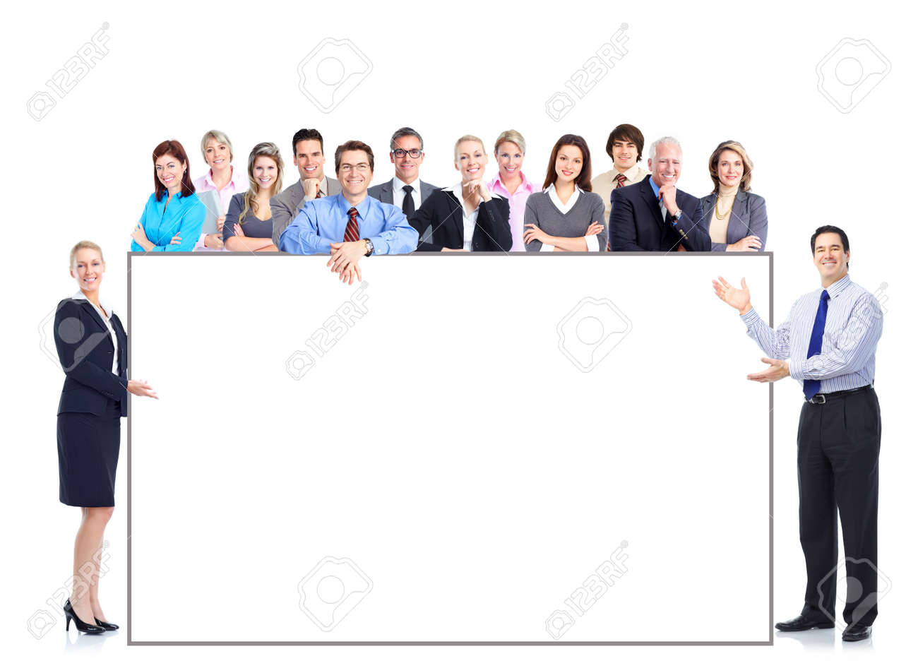 Business people team Stock Photo - 10280666