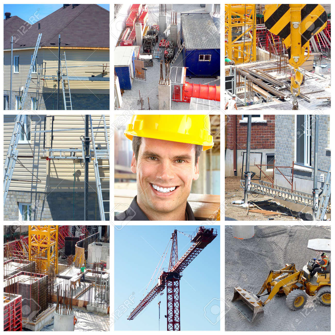 Construction. Stock Photo - 10331084