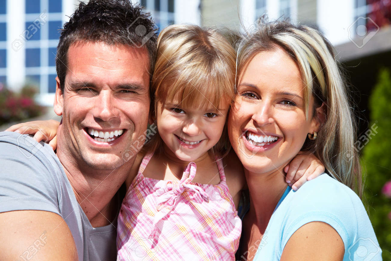 Happy family. Stock Photo - 10548652