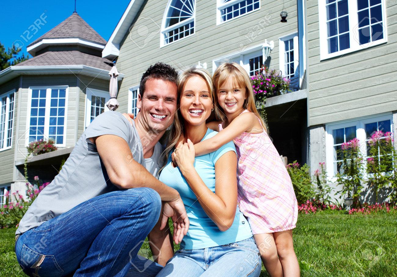 Happy family. Stock Photo - 10548541