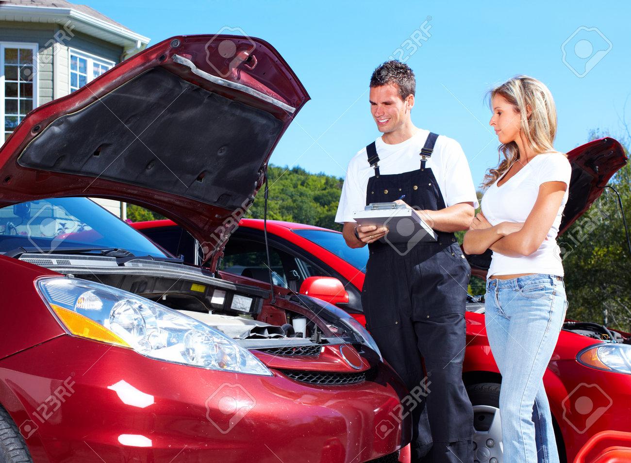 Auto mechanic Stock Photo - 10548771