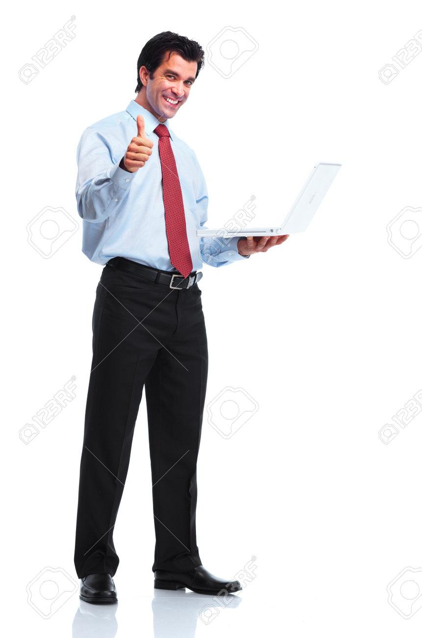 Business man. Stock Photo - 10630168