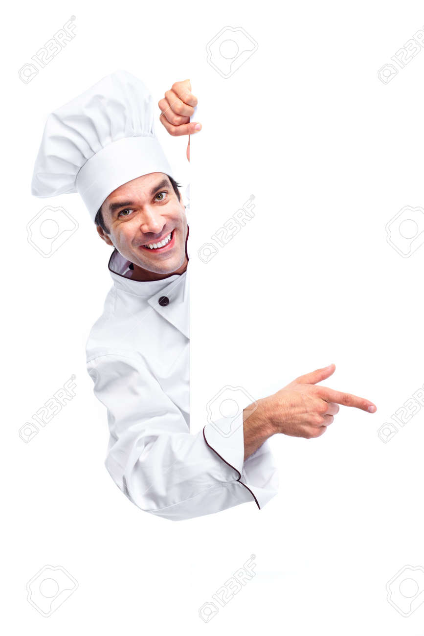 Chef. Stock Photo - 10696452