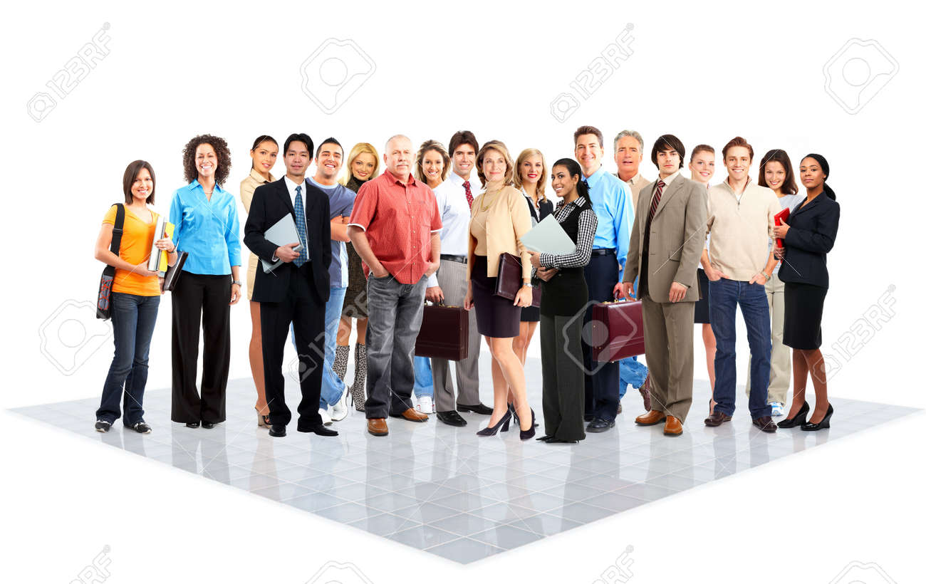 Business people. Stock Photo - 10757223