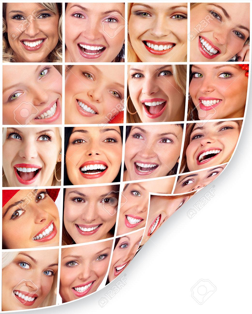 Woman smile. Stock Photo - 10757211