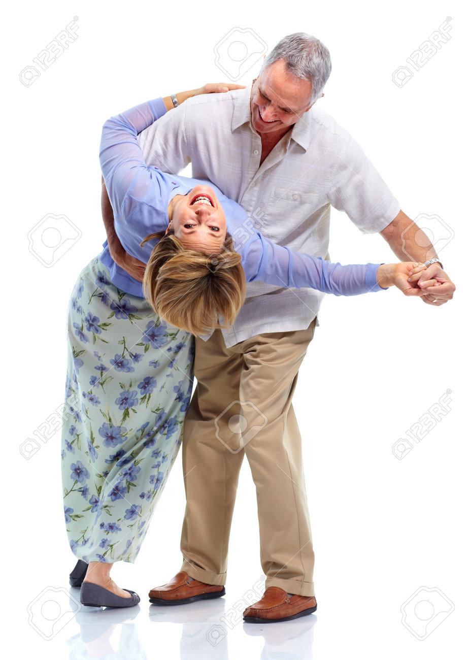 Happy elderly couple. Stock Photo - 10857146