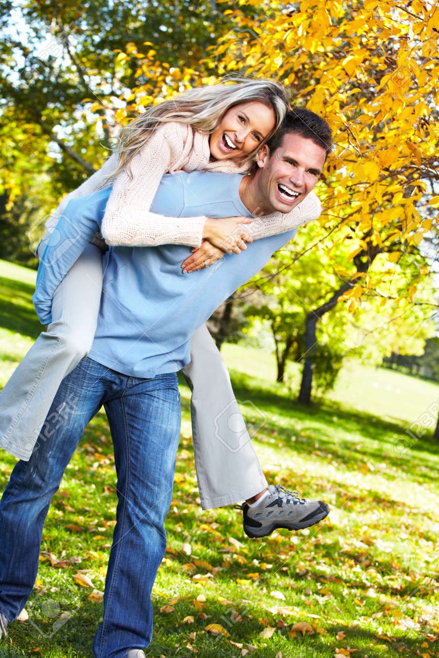 Happy couple. Stock Photo - 10857225