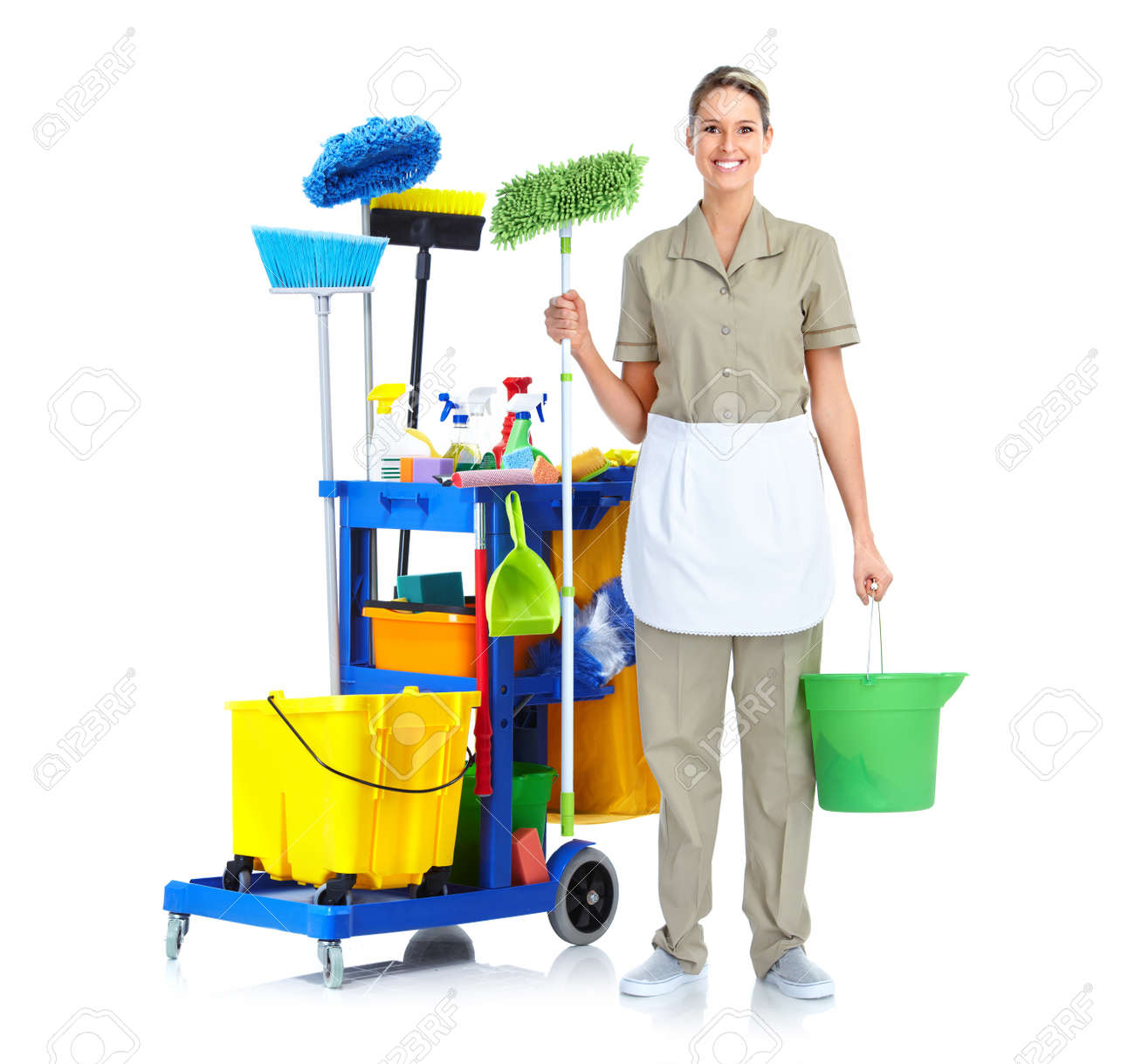 cleaner maid woman stock photo picture and royalty free image