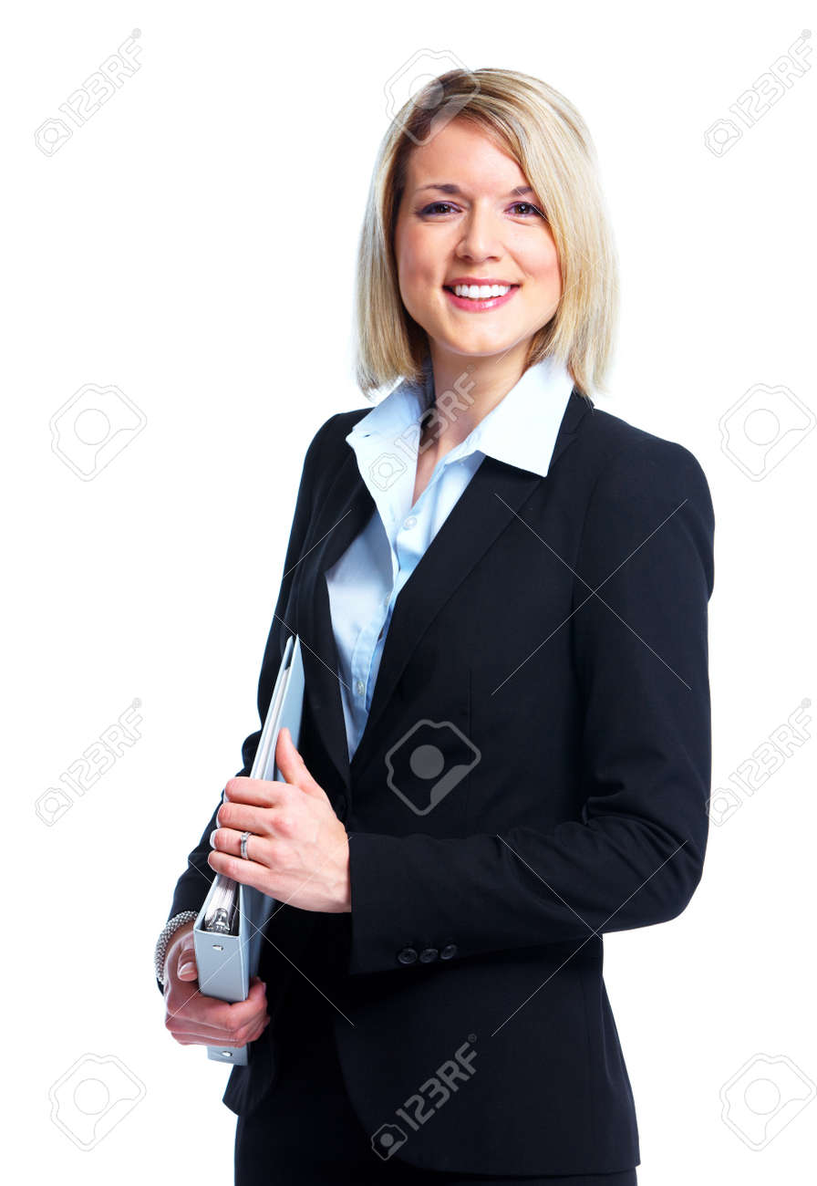 Financial adviser business lady. Stock Photo - 11071135