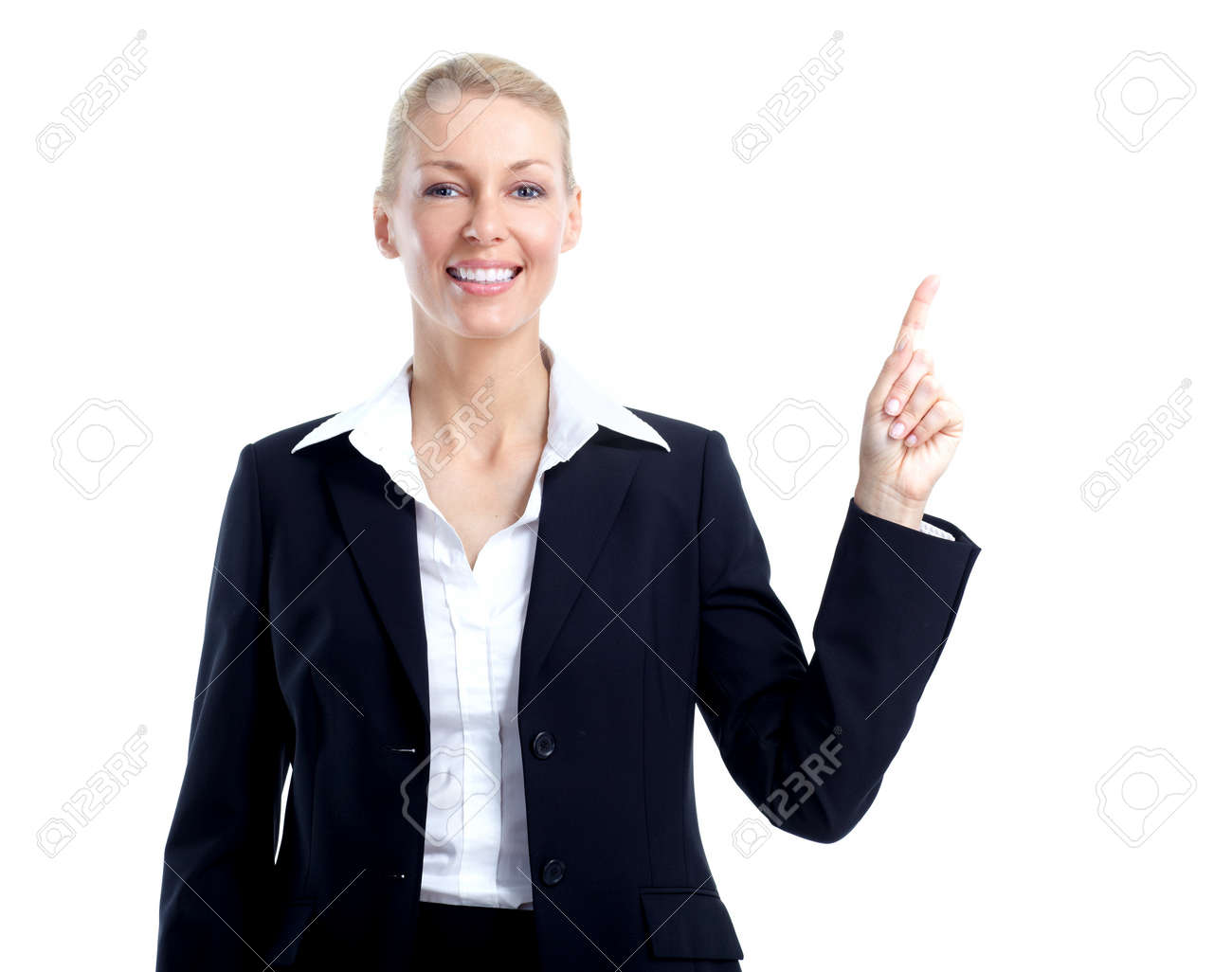 Business woman accountant. Stock Photo - 11455132