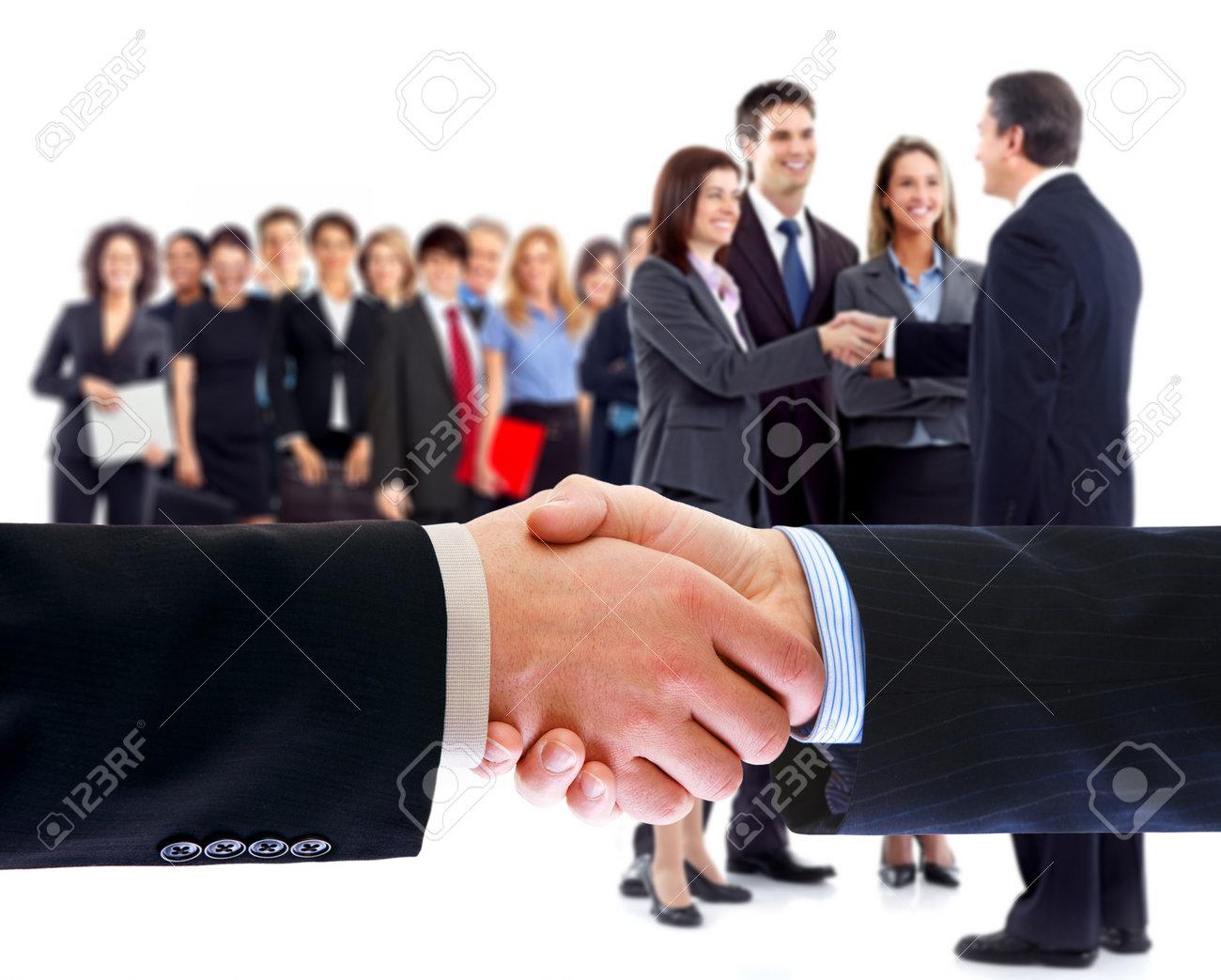 Business people handshake. Stock Photo - 11622646