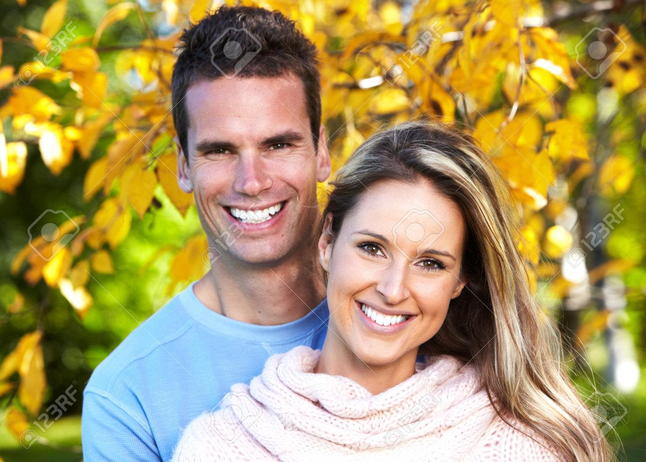 Happy couple. Stock Photo - 12378725
