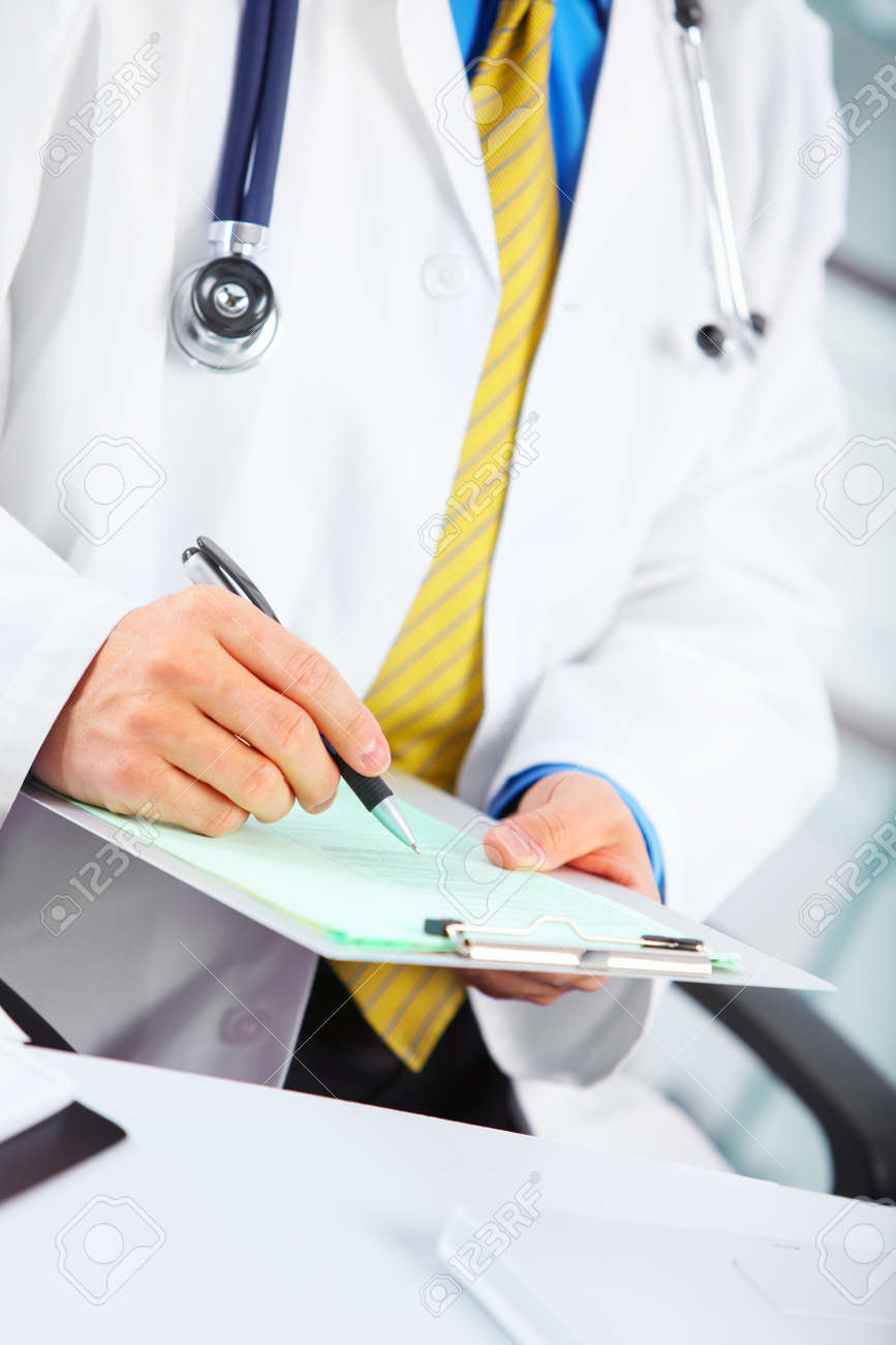 Medical doctor at the hospital. Stock Photo - 12378684