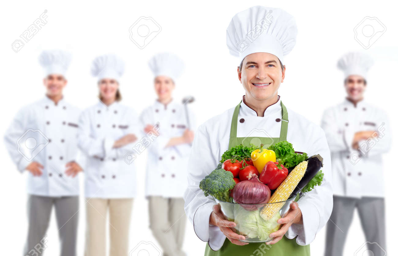 Chef baker man. Stock Photo - 12379000