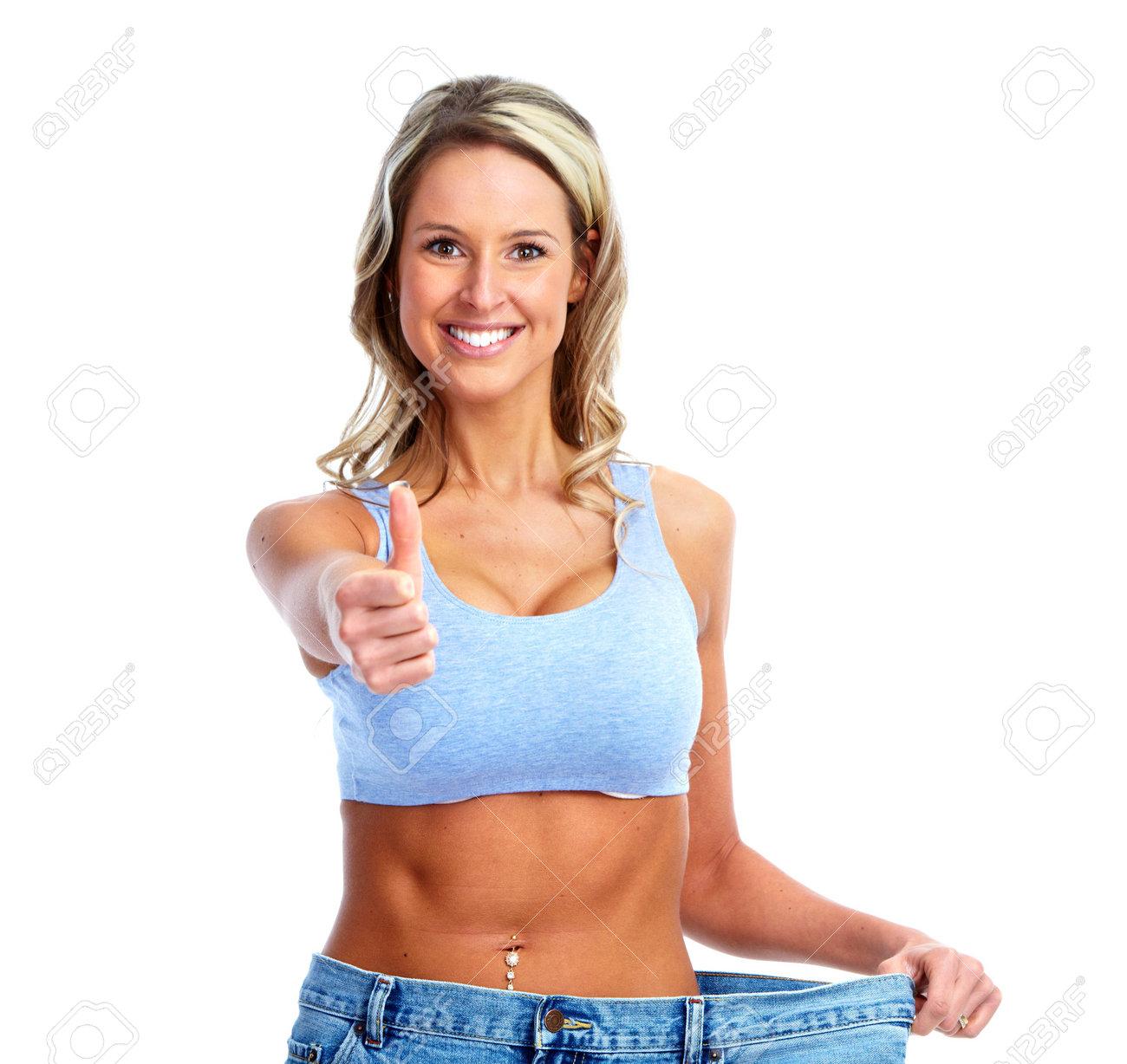 Weight loss. Stock Photo - 12379144