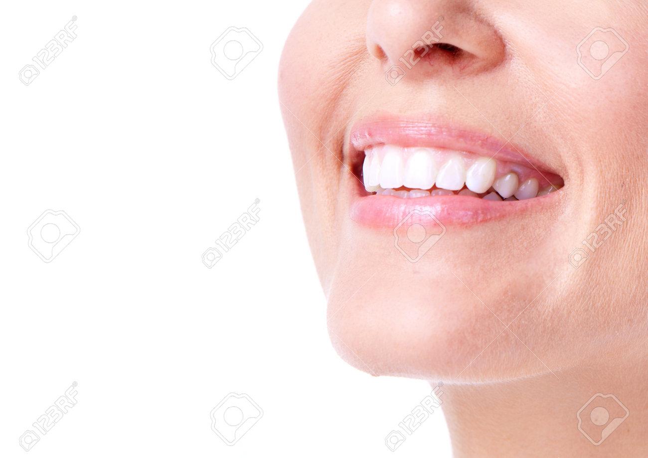 Woman smile Stock Photo - 12636837