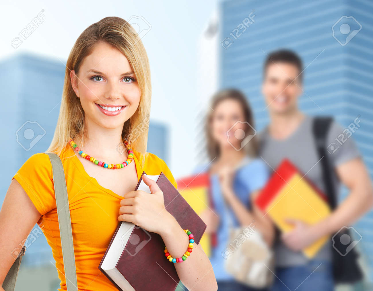 Young student woman Stock Photo - 12927766