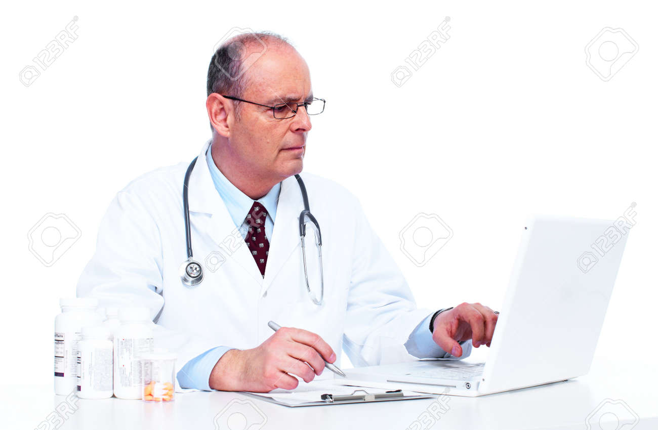 Doctor physician Stock Photo - 13288684