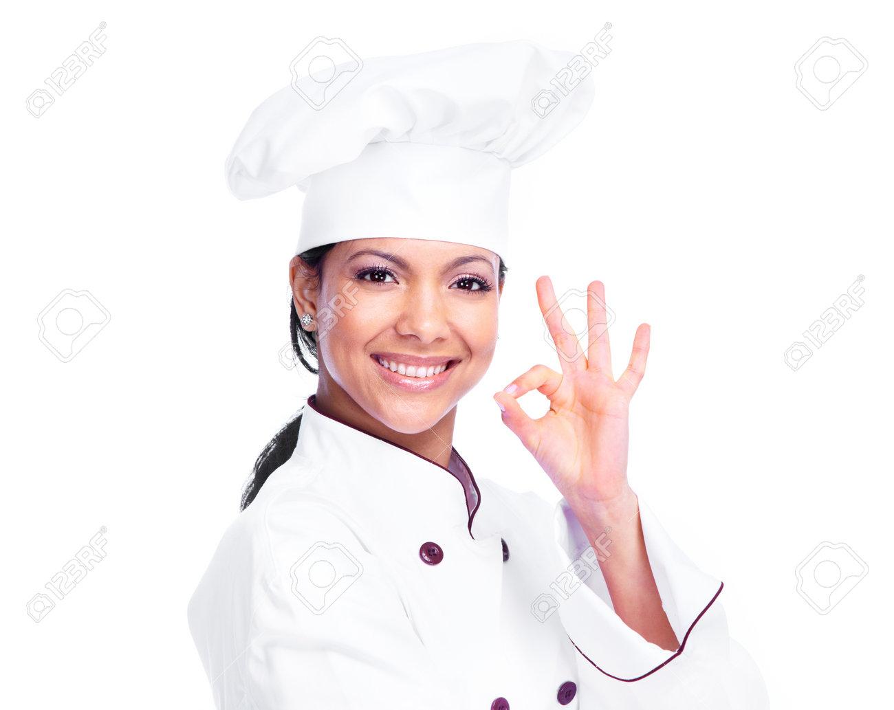 Chef woman Stock Photo - 13387816