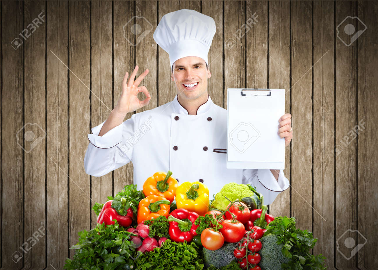 Chef man Stock Photo - 14201881