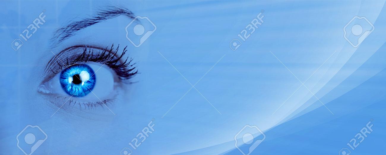Beautiful woman eye Stock Photo - 15691072