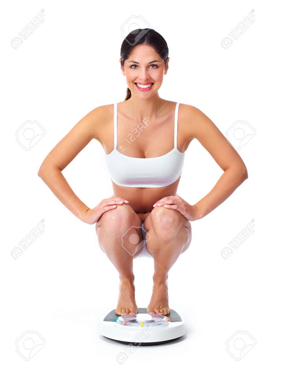 Beautiful healthy woman Stock Photo - 16640986
