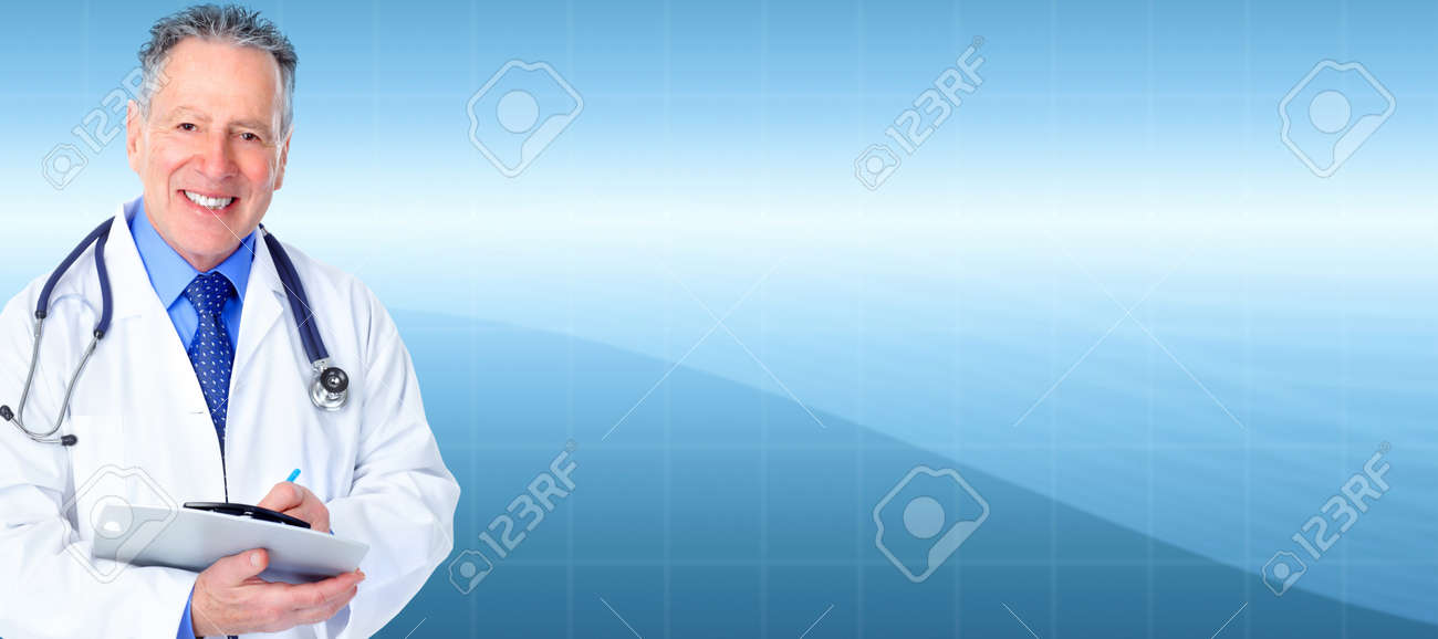 Mature medical doctor Stock Photo - 18263779