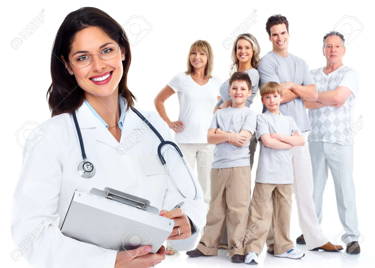 family doctor woman health care stock photo picture and royalty