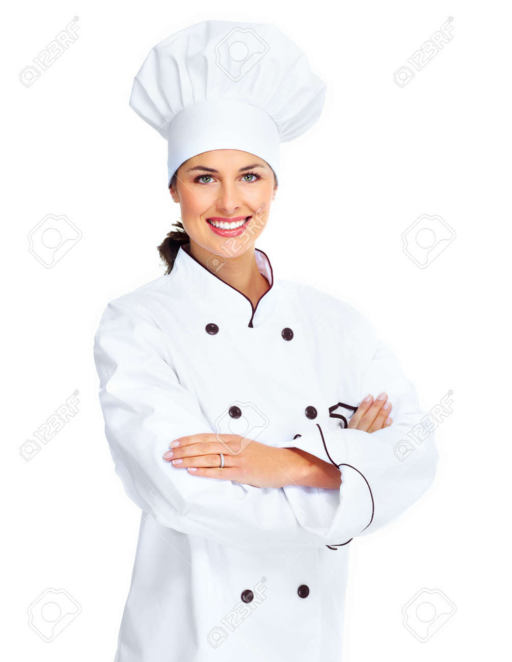 chef woman stock photo picture and royalty free image image 18888634