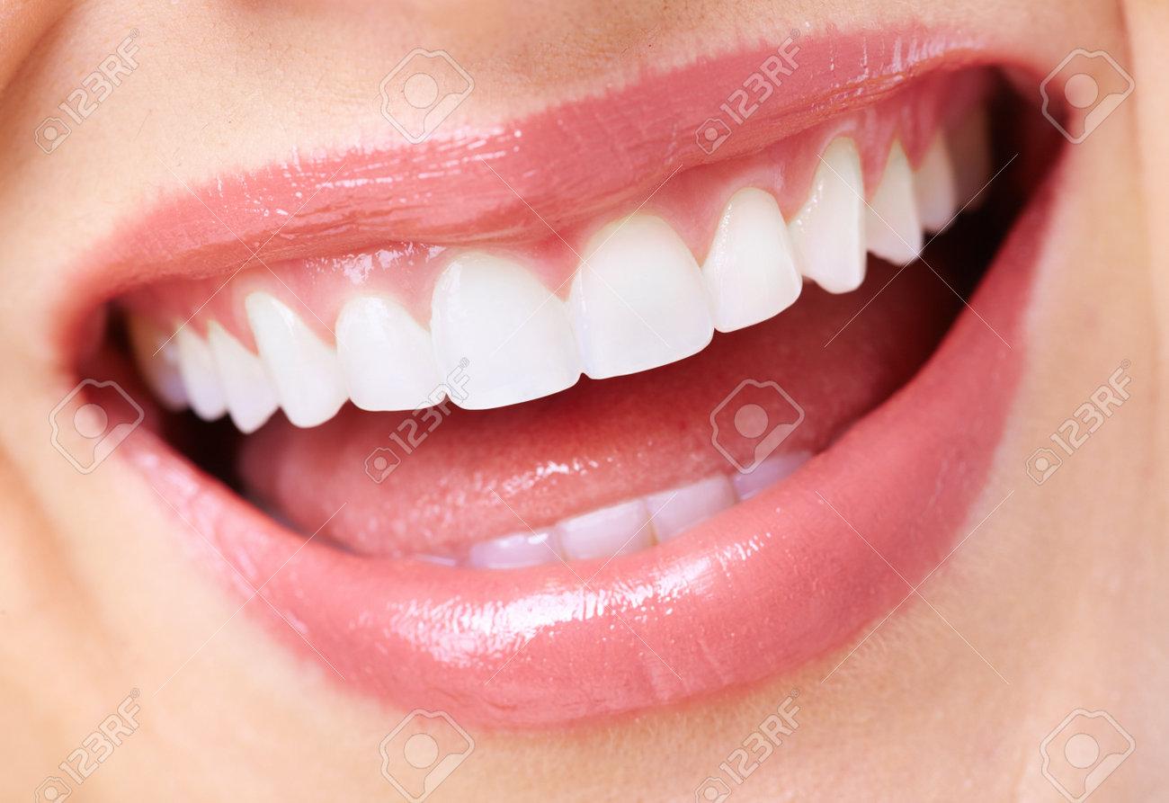 Beautiful woman smile Stock Photo - 18532627