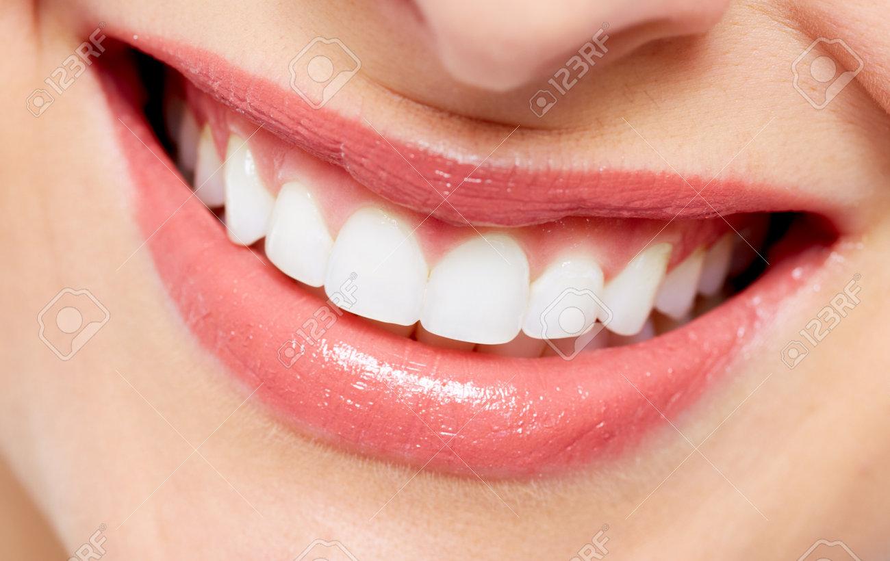 Beautiful woman smile - 18763718