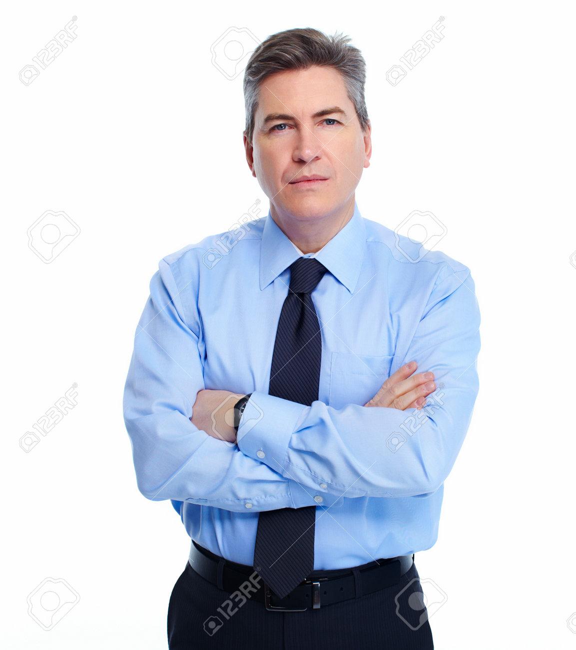Businessman isolated on white Stock Photo - 21411283