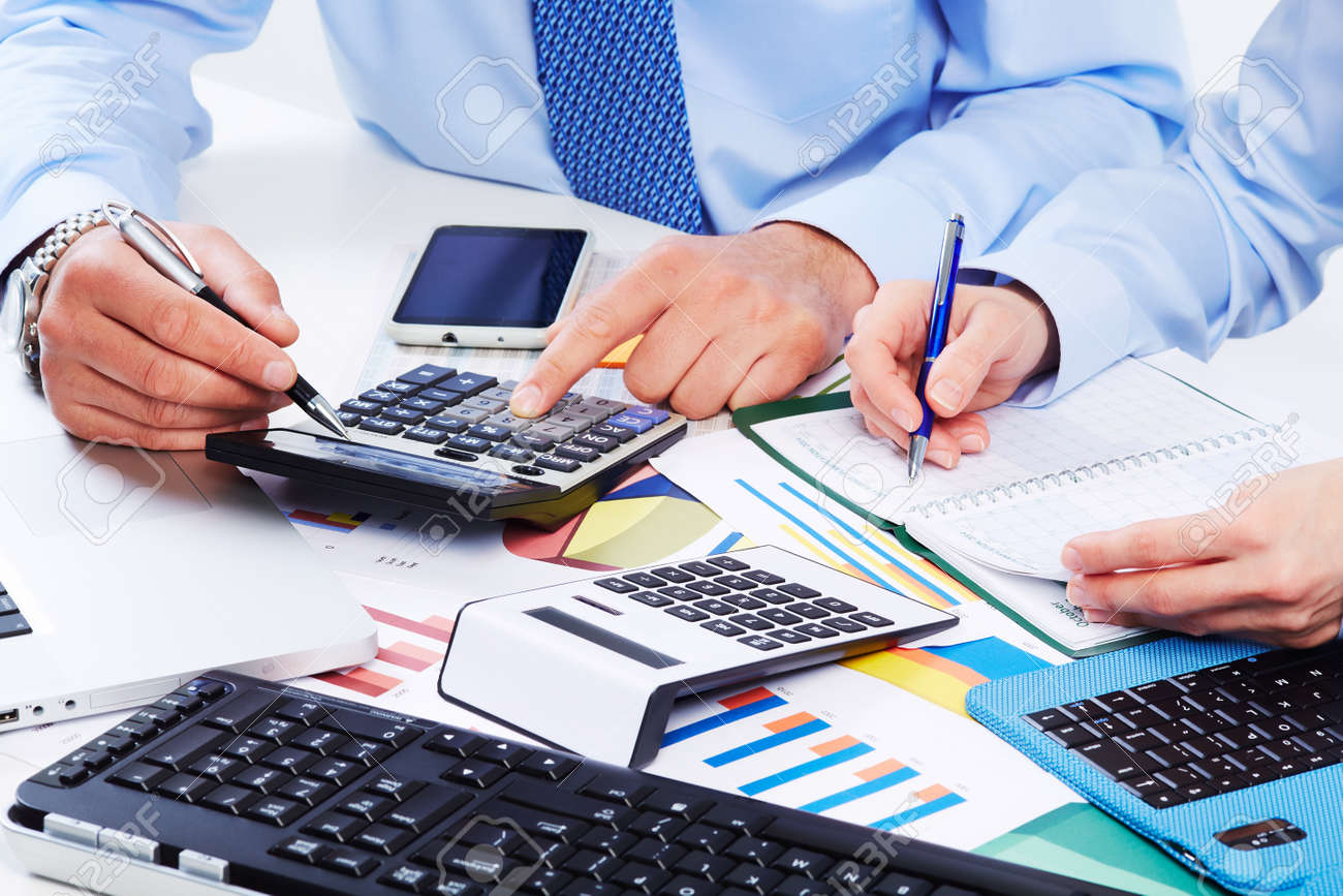 hand calculator finance and accounting business stock photo hand calculator finance and accounting business stock photo 21757718