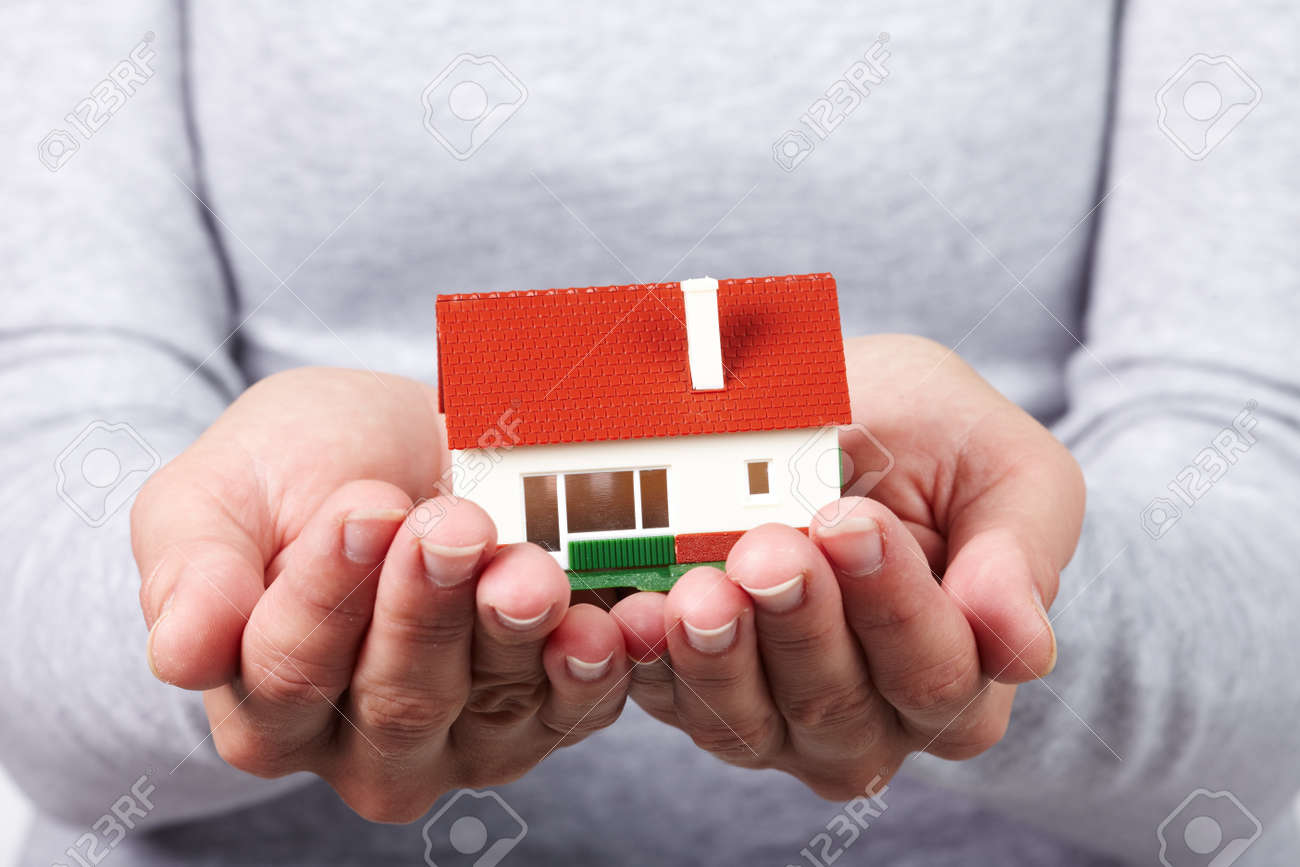 Family house  Real estate background Stock Photo - 22188409