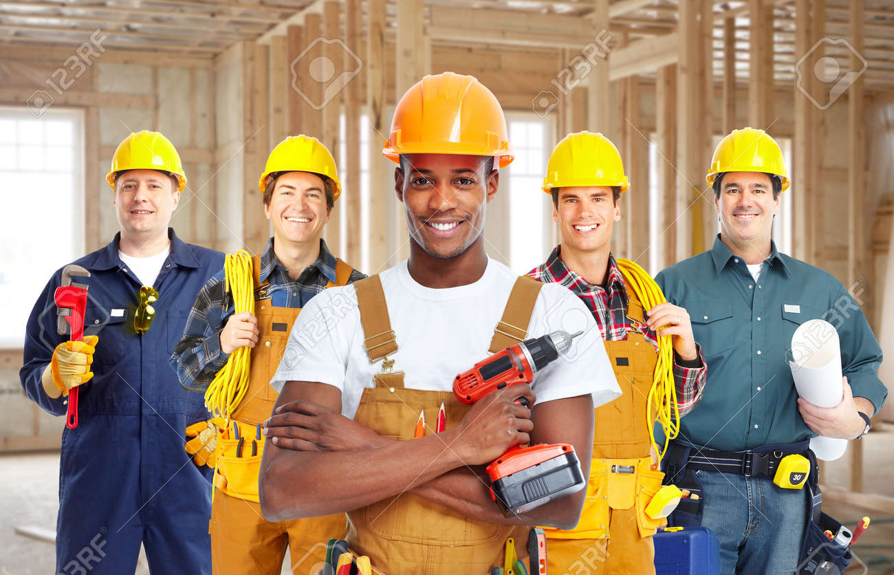 group of construction workers stock photo picture and royalty free