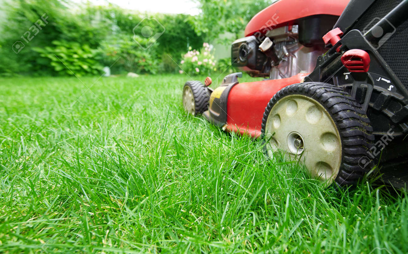 Lawn Mower Stock Photo Picture And Royalty Free Image Image 38915352
