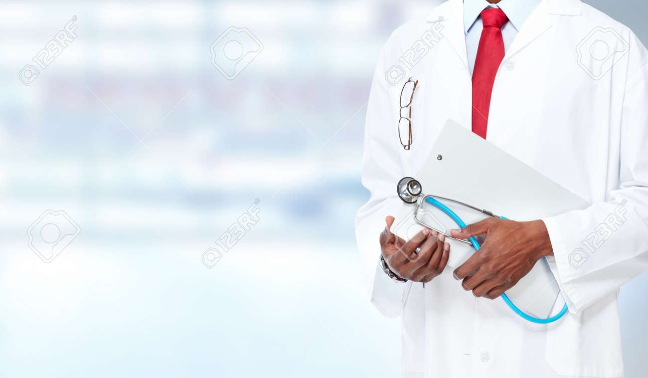 Medical physician doctor hands. Healthcare background banner. Stock Photo - 44144328