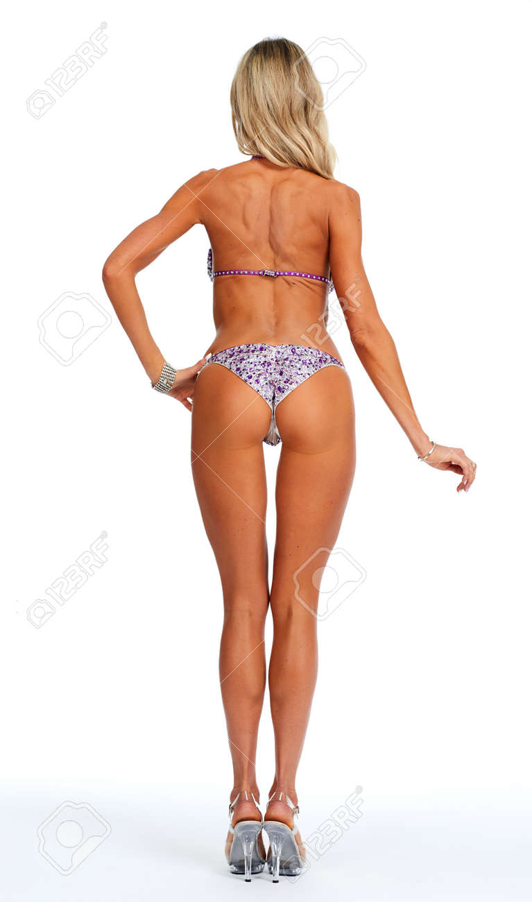 Chica Atlética Fitness Joven Concepto Espalda BikiniEl En Deporte Y De Bella wuOTkZilPX