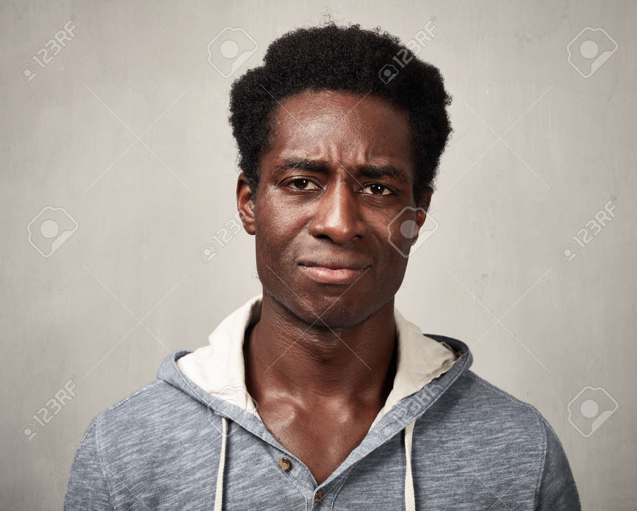 Sad Black Man Stock Photo Picture And Royalty Free Image Image 70332027