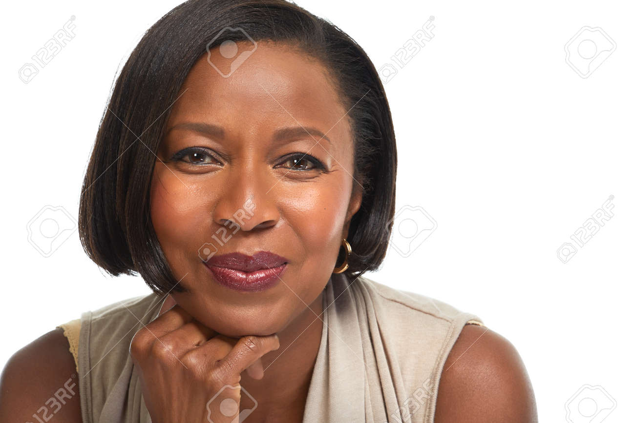 African-American business woman. Stock Photo - 75232989