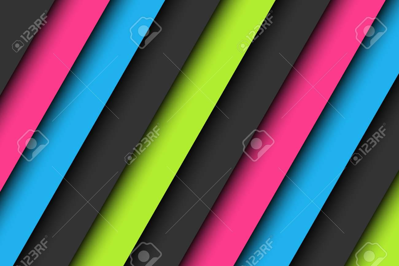 Abstrakter Hintergrund In Den Neonfarben, Tapete Mit Den Rosa, Blauen,  Grünen Und Grauen