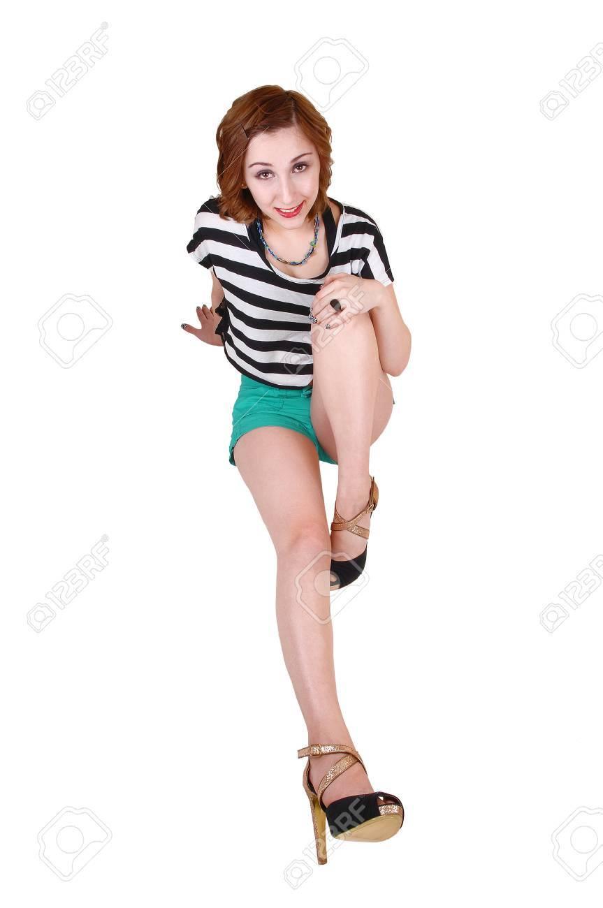 junge teen high heels
