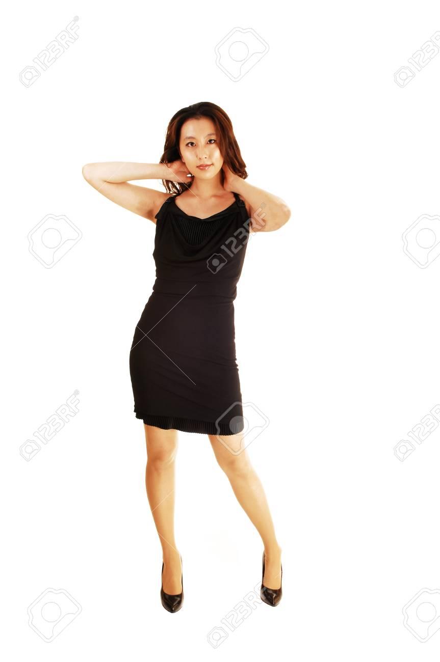 korean black heels