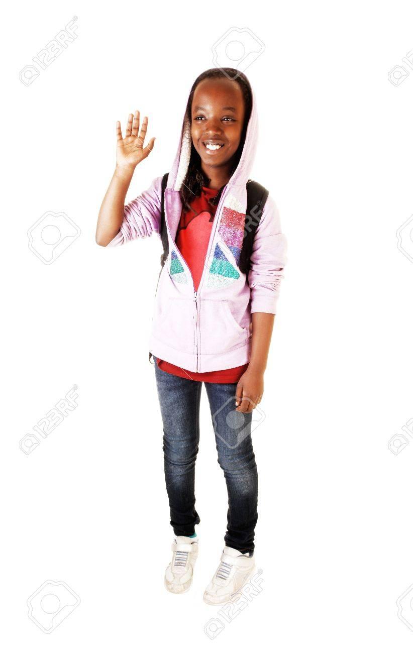 Schöner schwarzer Teenager