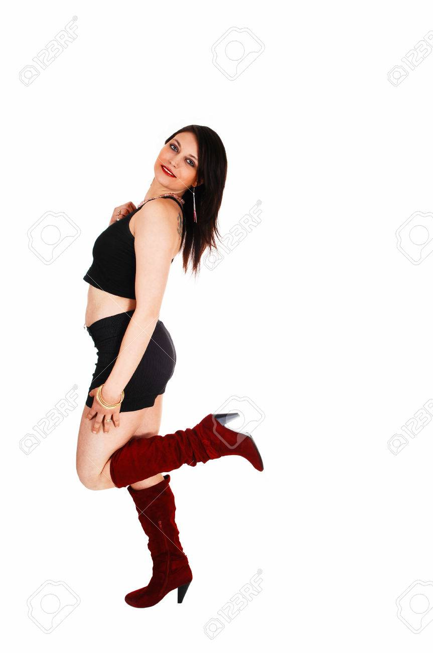 And Profile Picture A Shorts Pretty Woman In Of Dancing Boots hQrstdC