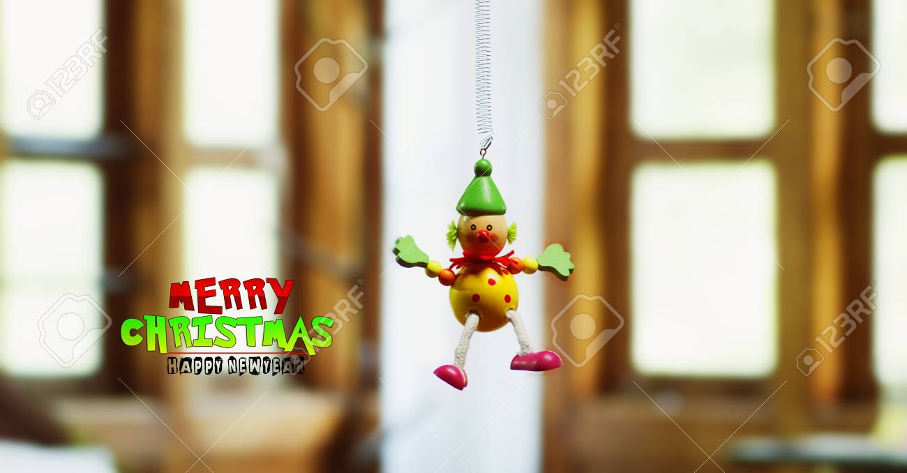 A Joker Toy, Merry Christmas Stock Photo, Picture And Royalty Free ...
