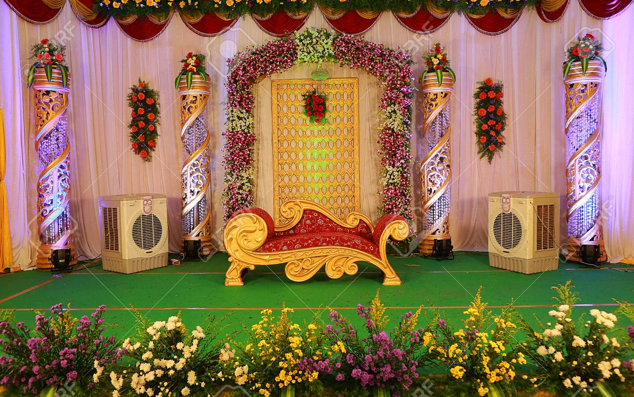 Indian wedding stage decoration stock photo picture and royalty indian wedding stage decoration stock photo 99141755 junglespirit Gallery